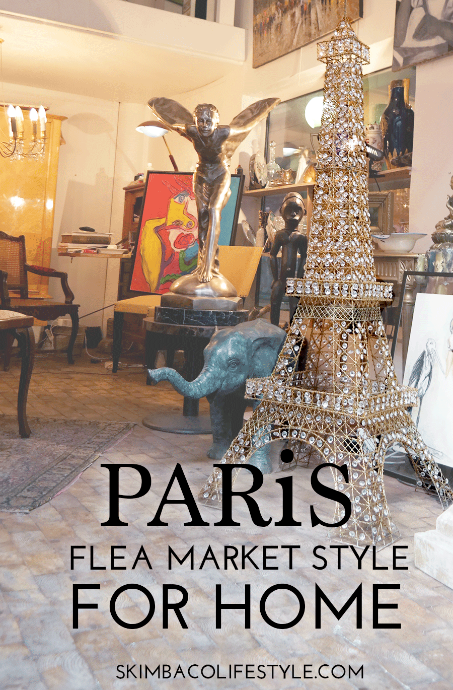 Paris Flea Market Style as Home Decorating Inspiration - Skimbaco ...