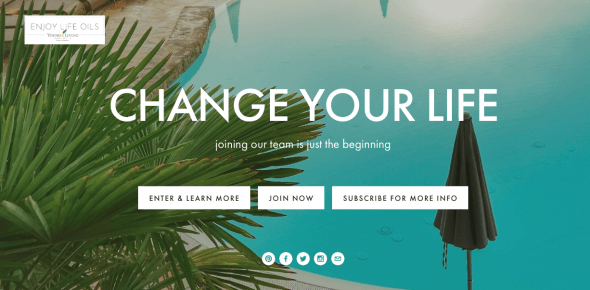 Change your life... with Young Living essential oils. Join the Enjoy Life Oils team at http://www.enjoylifeoils.com