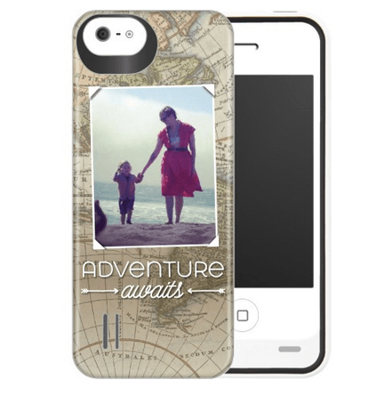 customizable phone case with battery