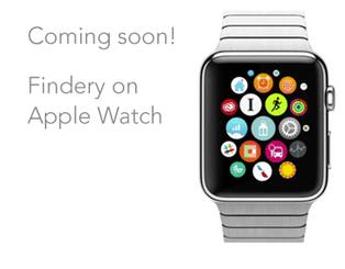 Findery on Apple watch