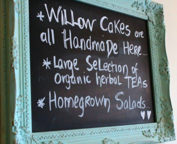 Willow Cakes at The Willow Cafe Tea House Westport, County Mayo, Ireland