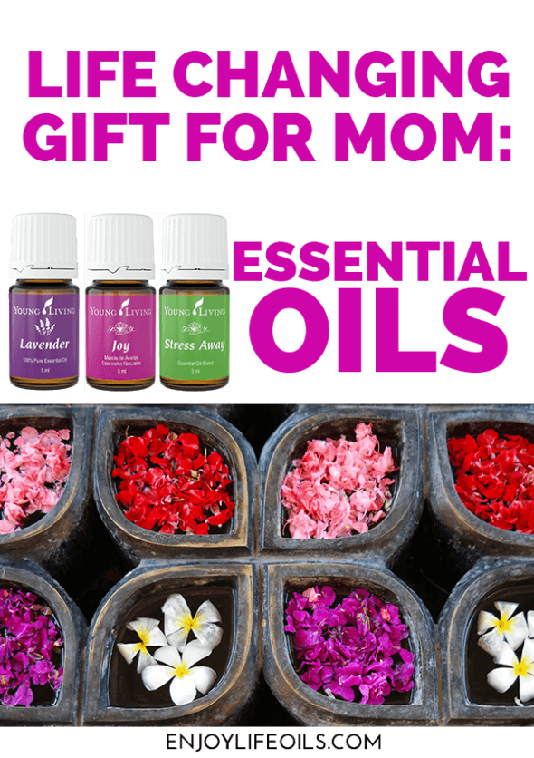 healthy lifestyle mothers day gift idea essential oils