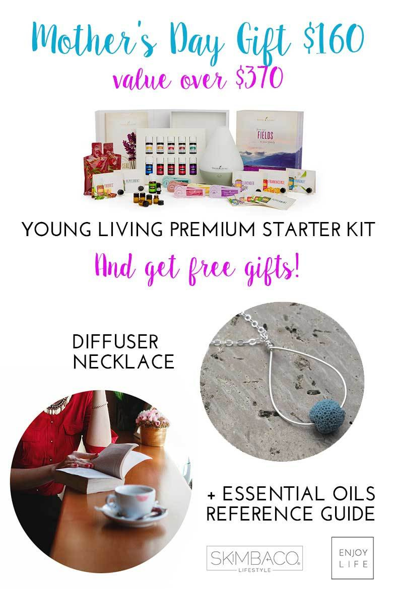 Mother's Day promotion free gifts with Young Living Premiumum Starter Kit