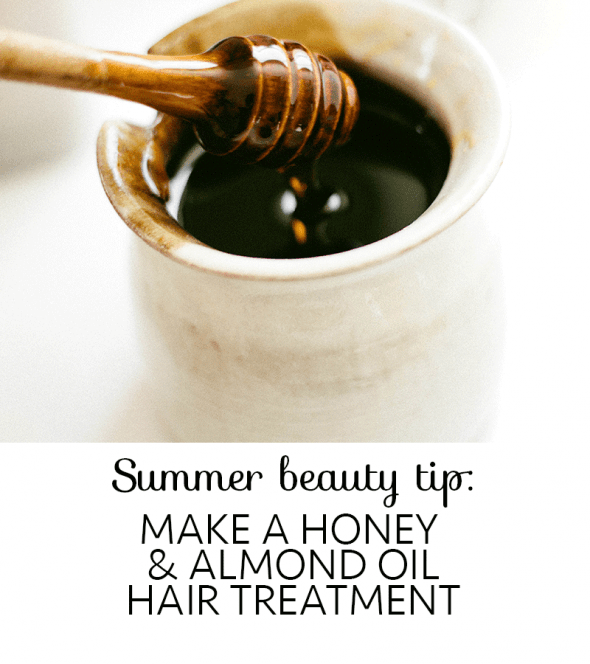 Almond Oil Hair Treatment With Honey