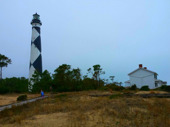Cape Lookout Lighthouse, a national state park