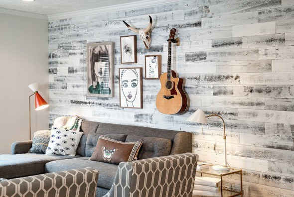 Stikwood wall covering