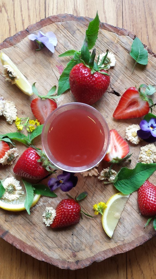 Strawberry Chrysanthemum Elixir