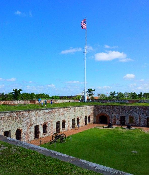 historic civil war fort in N.C.