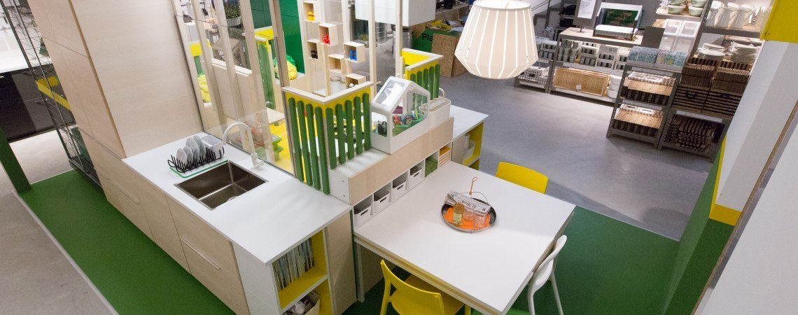 ikea temporary installation at milan world expo skimbaco. Black Bedroom Furniture Sets. Home Design Ideas
