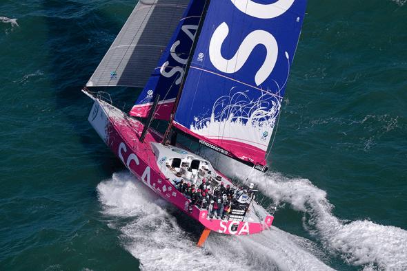 Volvo Ocean Race SCA team