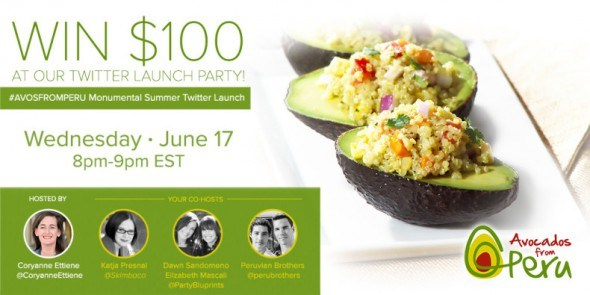 avocados from peru twitter party