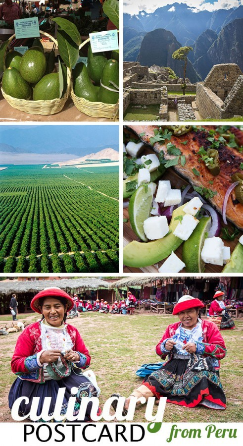 Culinary postcard from Peru