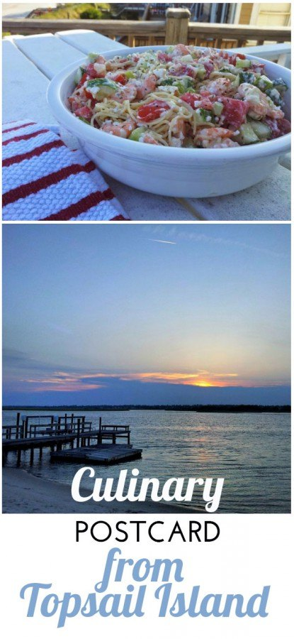 Culinary postcard from Topsail Island, North Carolina