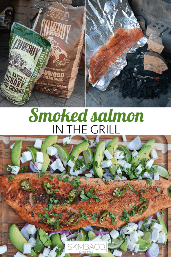 Tips how to make smoked salmon in the grill. Salmon is one of our favorite foods to BBQ during summer, great for parties too. Via @skimbaco