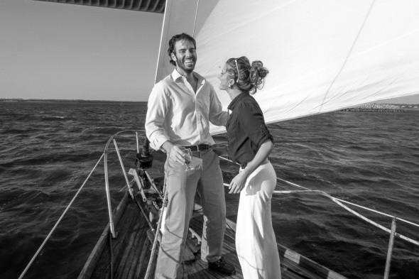 BROOKE and WILHELM GENN, the Nomadic Newlyweds