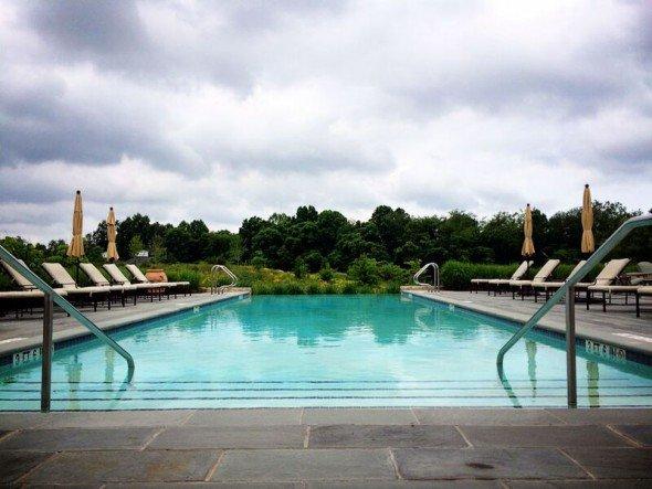 Salamander Resort pool by Keryn Means