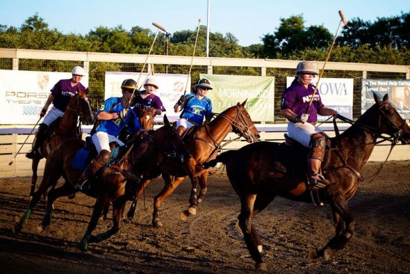Twilight Polo in Middleburg by Keryn Means
