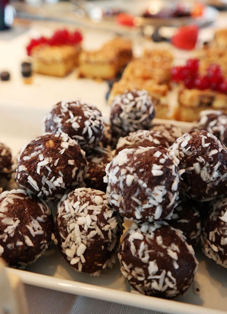coconut chocolate balls in Swedish Smörgåsbord | Travel feature by @skimbaco