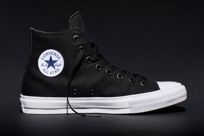 New Chuck II black high-top.
