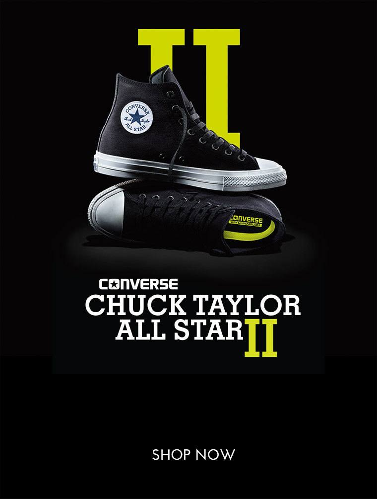 Shop now for the Converse Chuck Taylor All Star II