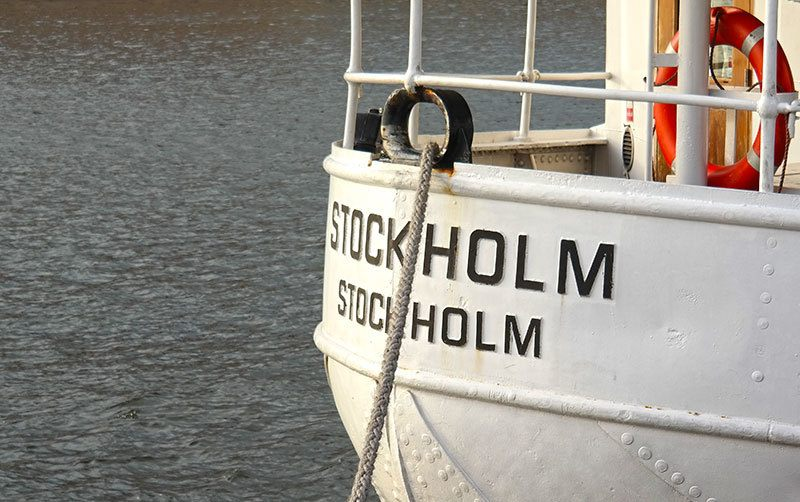 Authentic Swedish Smörgåsbord on a Brunch Cruise in Stockholm's Archipelago with S/S Stockholm