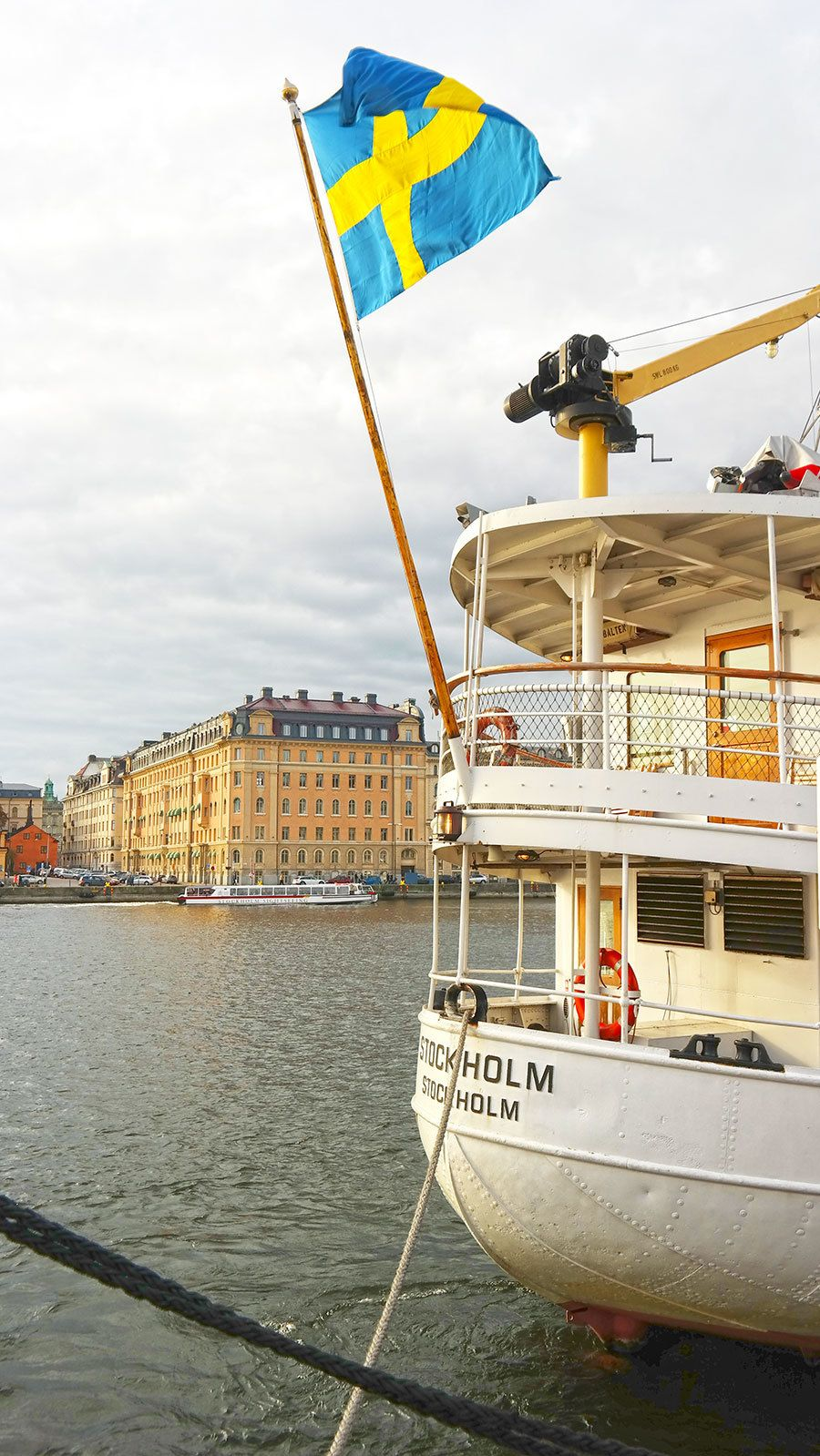 Authentic Swedish Smu00f6rgu00e5sbord On A Brunch Cruise In ...