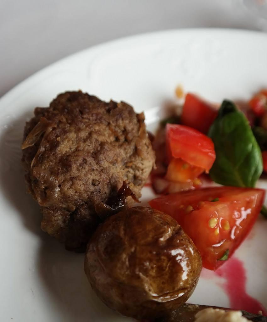 Swedish meatballs in Swedish Smörgåsbord | Travel feature by @skimbaco