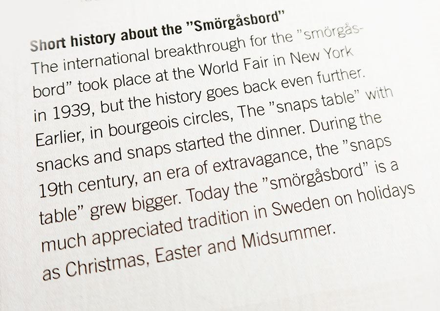 What is Swedish Smörgåsbord? | Travel feature by @skimbaco