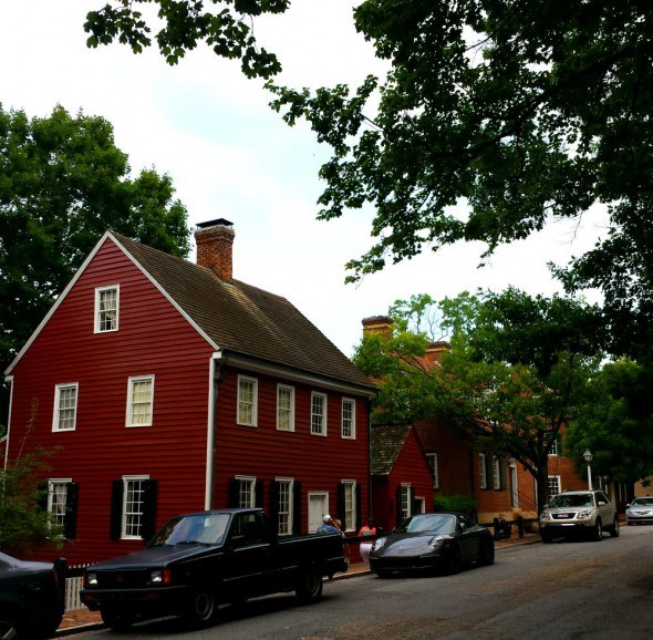 Old Salem in Winston-Salem is now a historic museum.