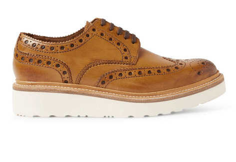 Grenson Leather Brogue