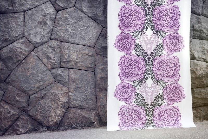 Scandinavian design trends by Vallila: flower prints remain in trend.