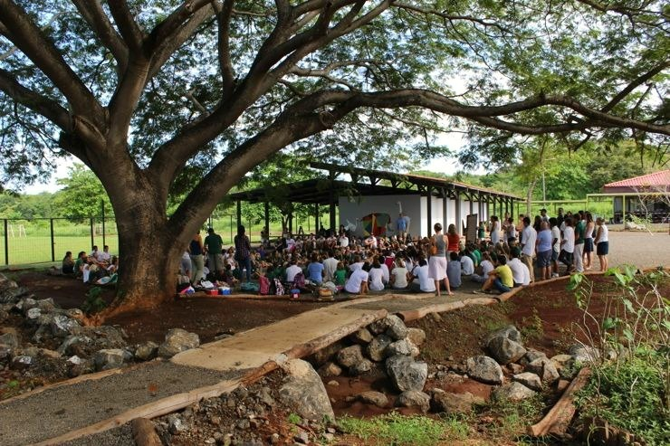 La Paz Community School Under the Guanacaste Tree Costa Rica