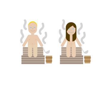 Sauna emoji