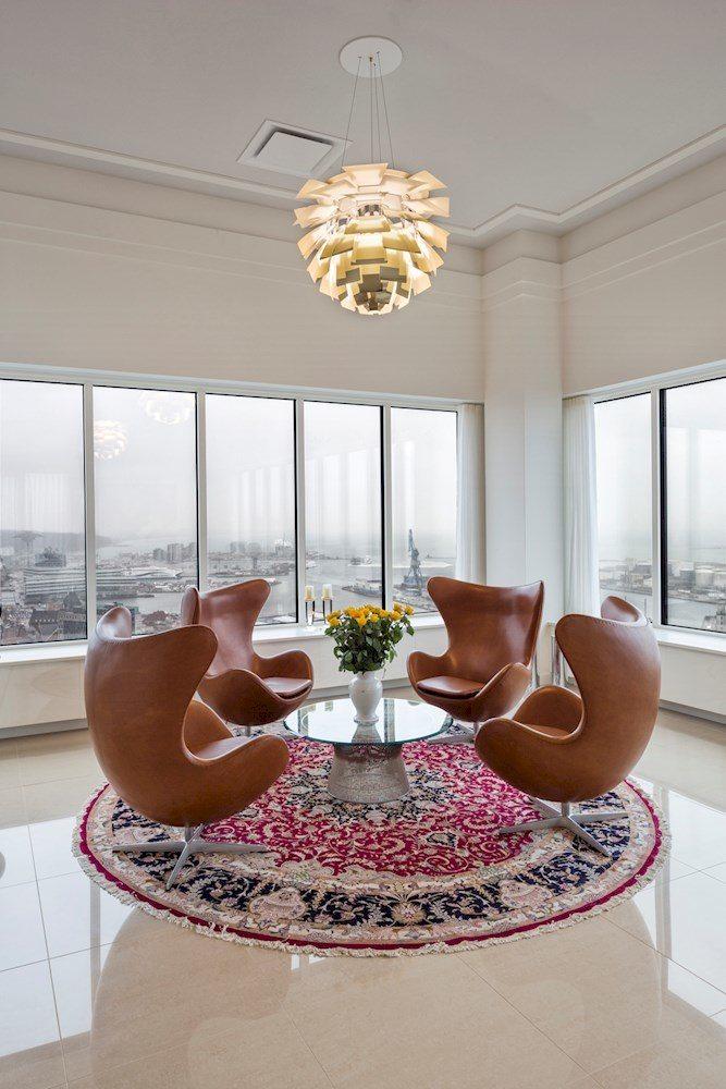 artichoke lamp in aarhus penthouse