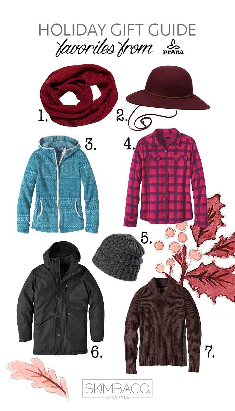 Christmas gift ideas for adventurous traveler from prAna. Via @skimbaco