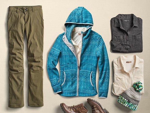 prana outdoor clothes
