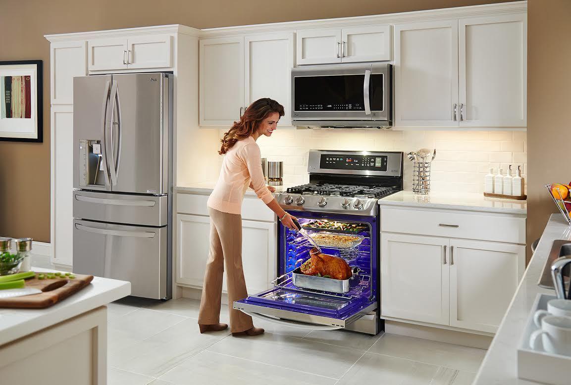 LG ovens for modern kitchens