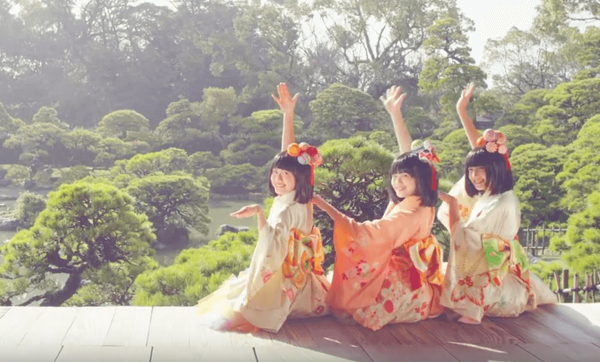 Sagemon girls in Yaganawa
