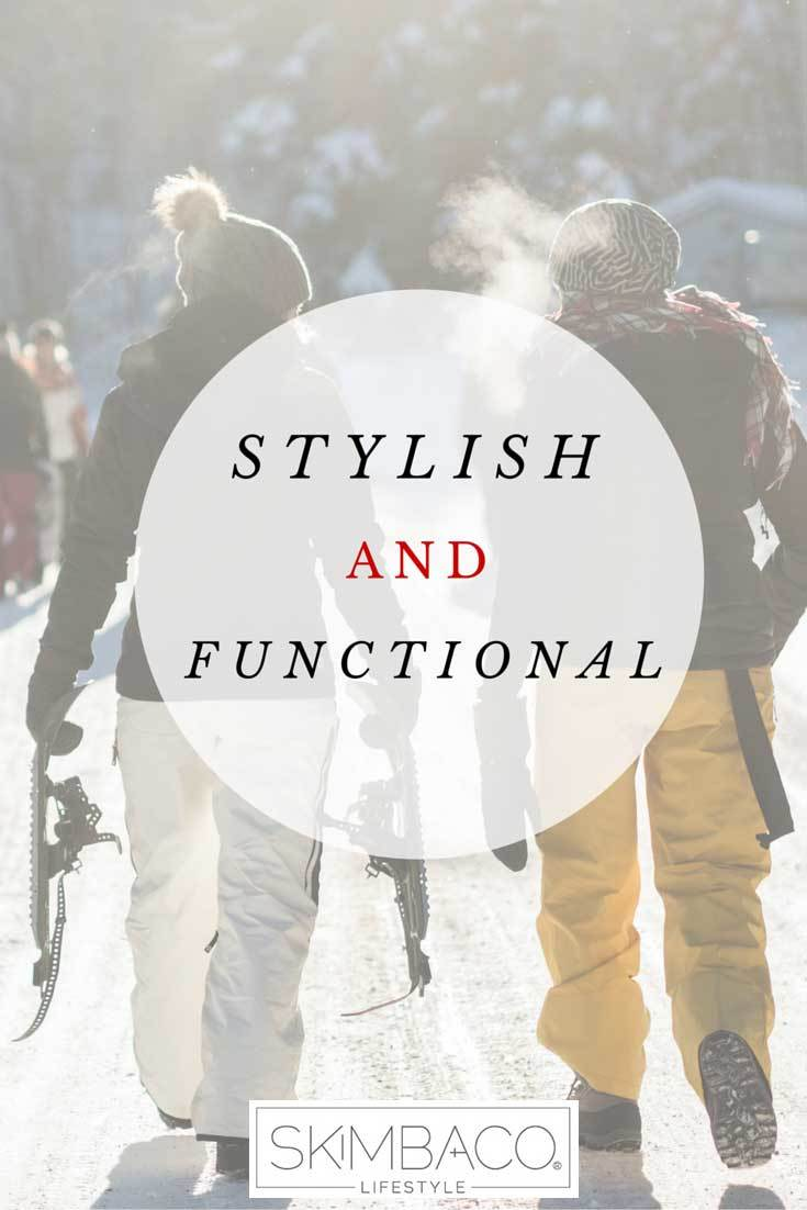 Stylish and functional apres ski clothes for men