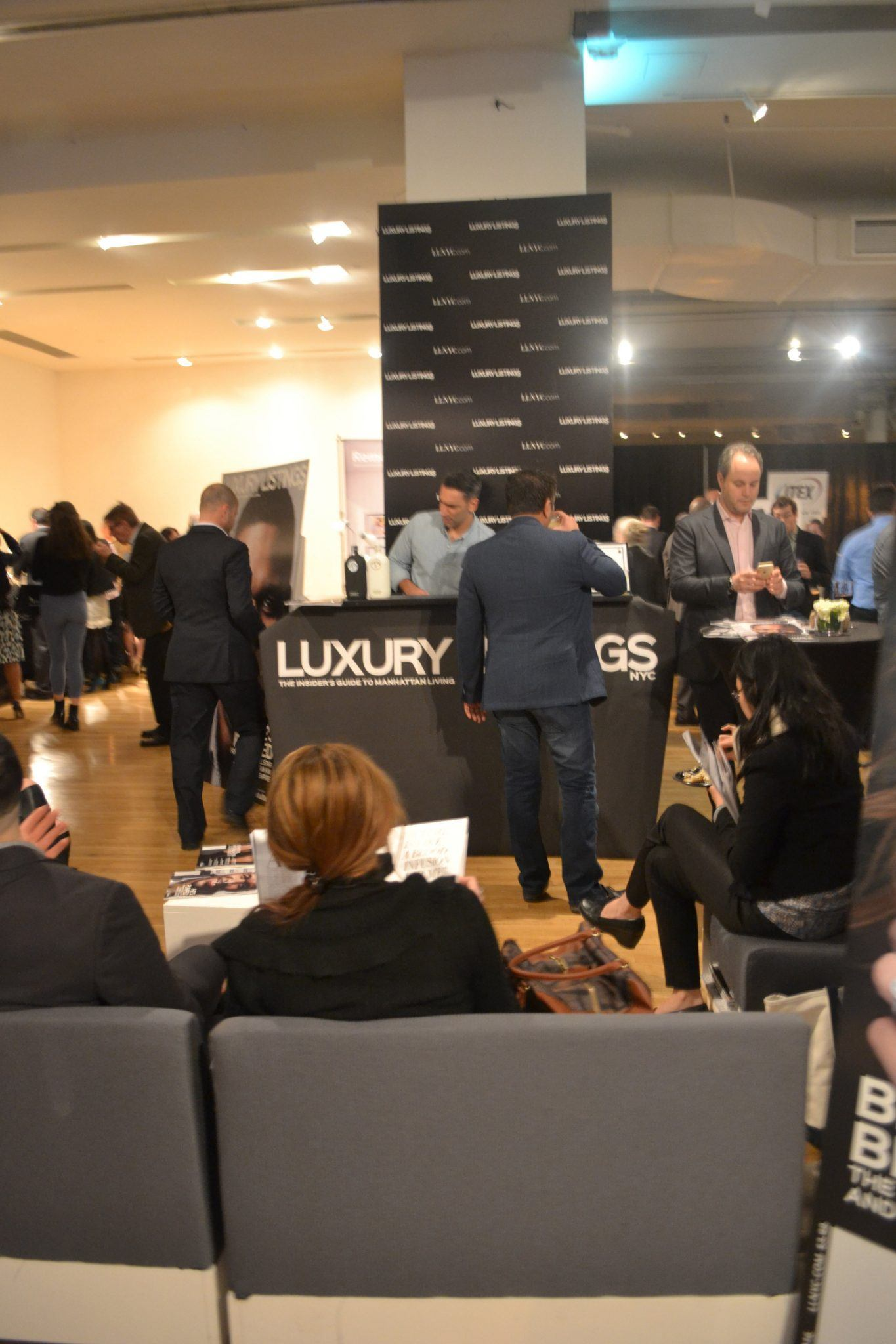 Luxury Technology Show Ambiance