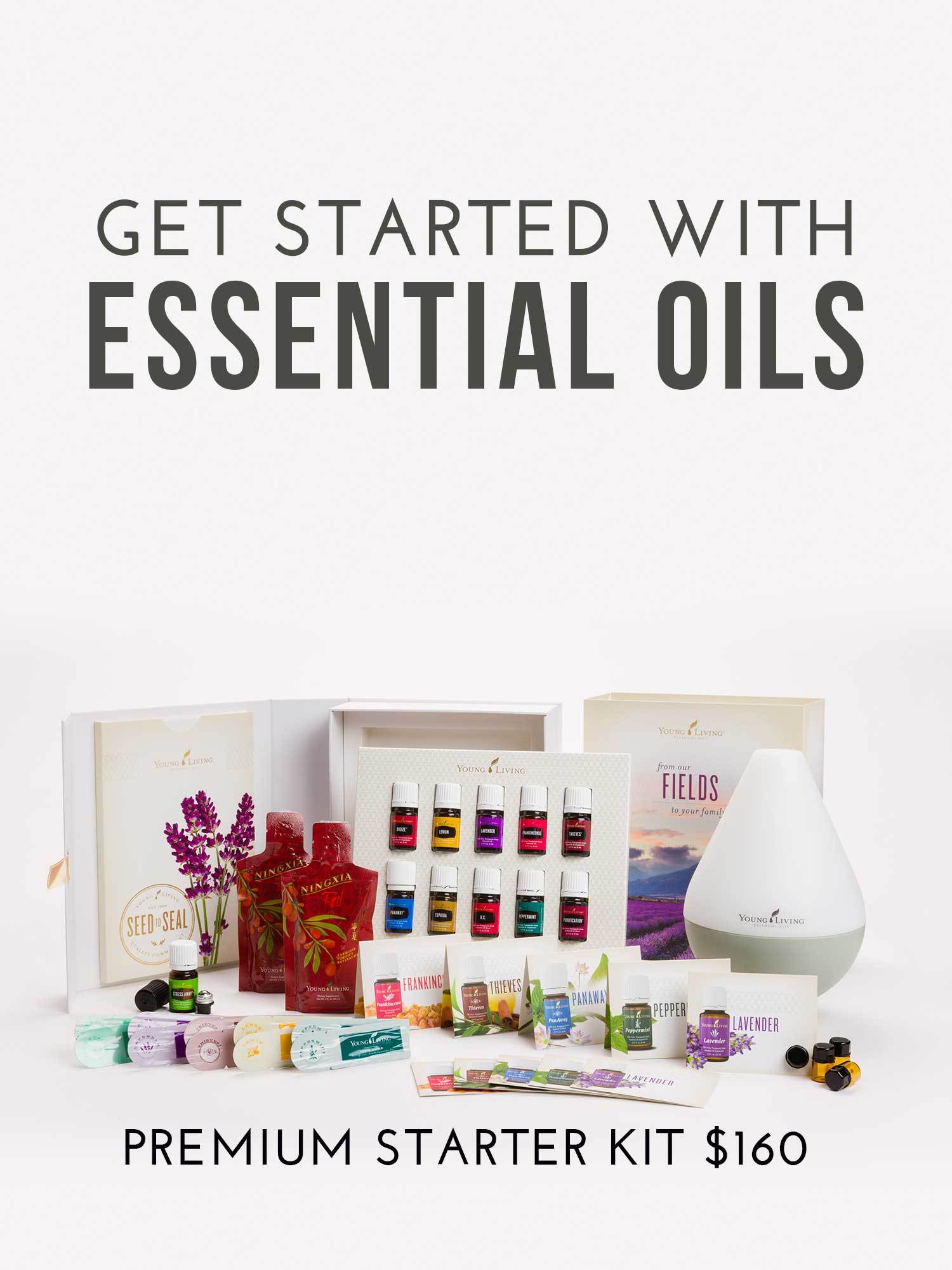 Start your healthy living journey by getting the Young Living Premium Starter Kit via @skimbaco