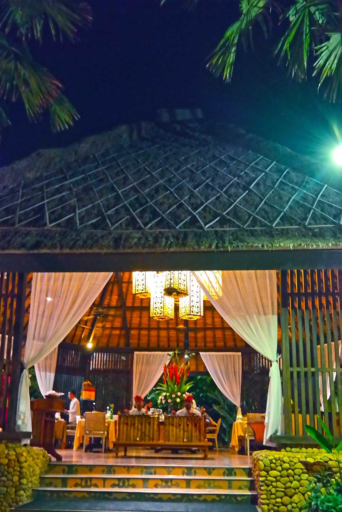 Dulang Restaurant at St Regis Bali Indonesia