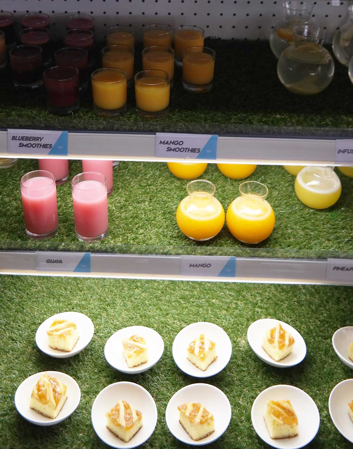 mangi smoothies for breakfast at the W bali seminyak