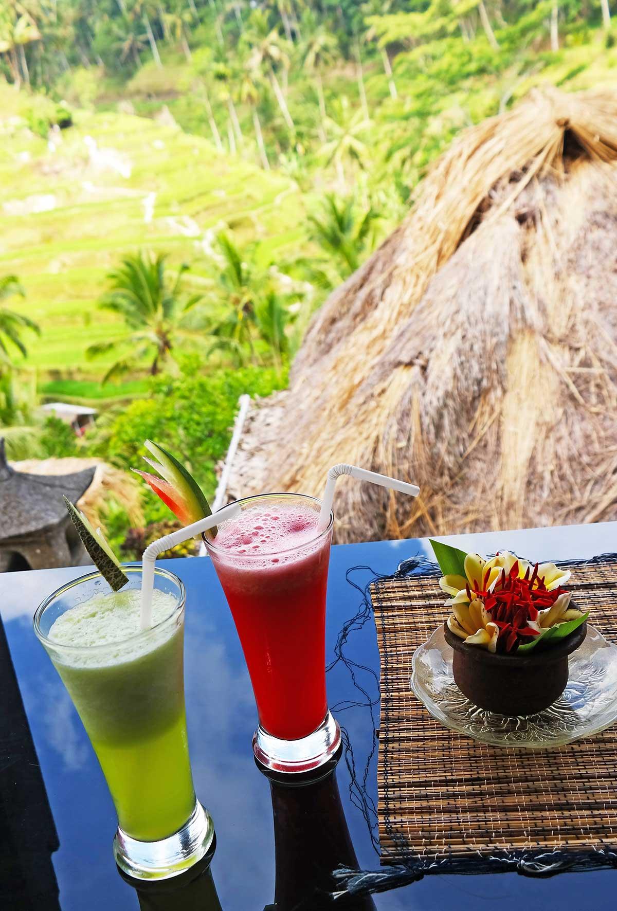 watermelon juice in Bali