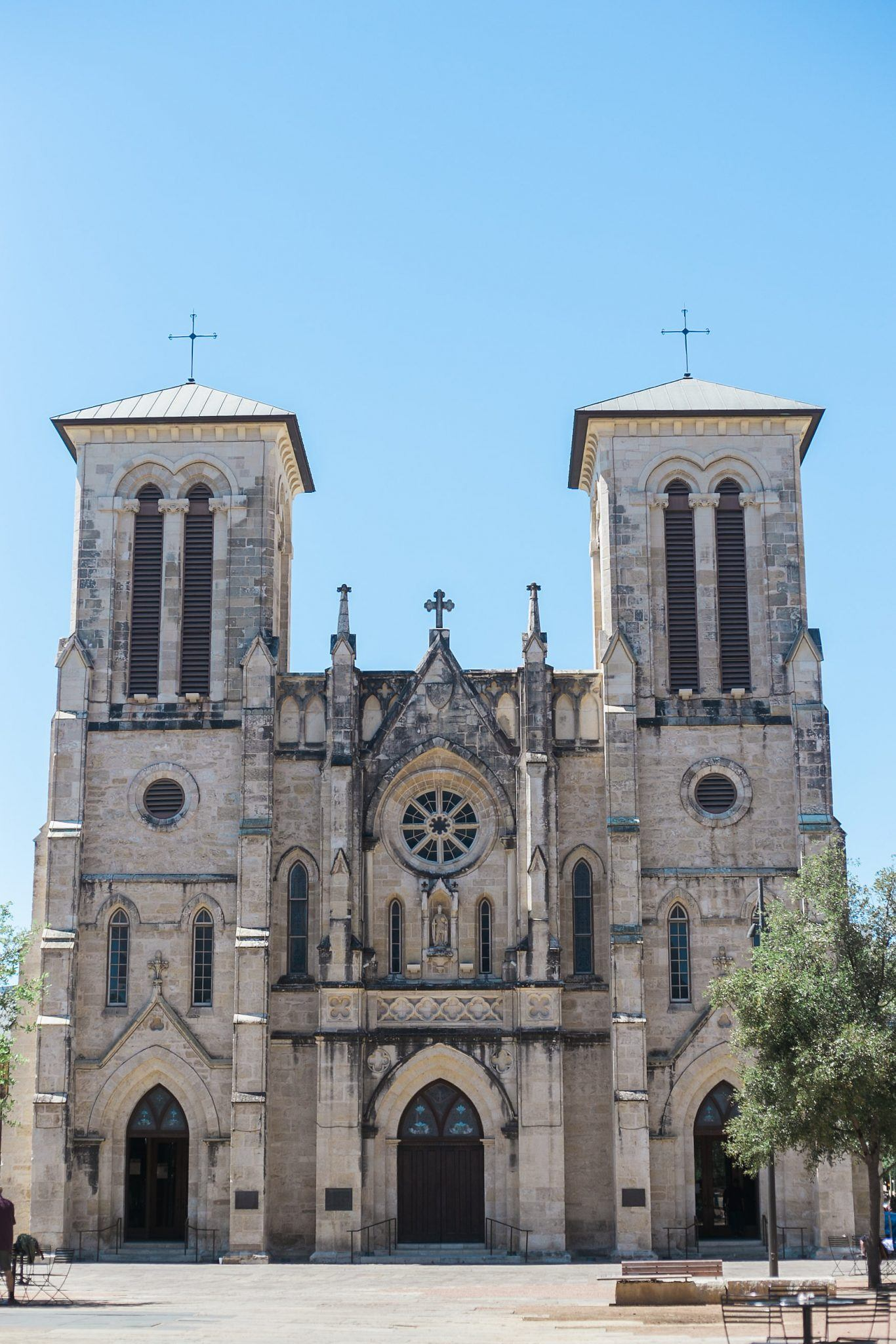 Oldest church in texas is in San Antonio