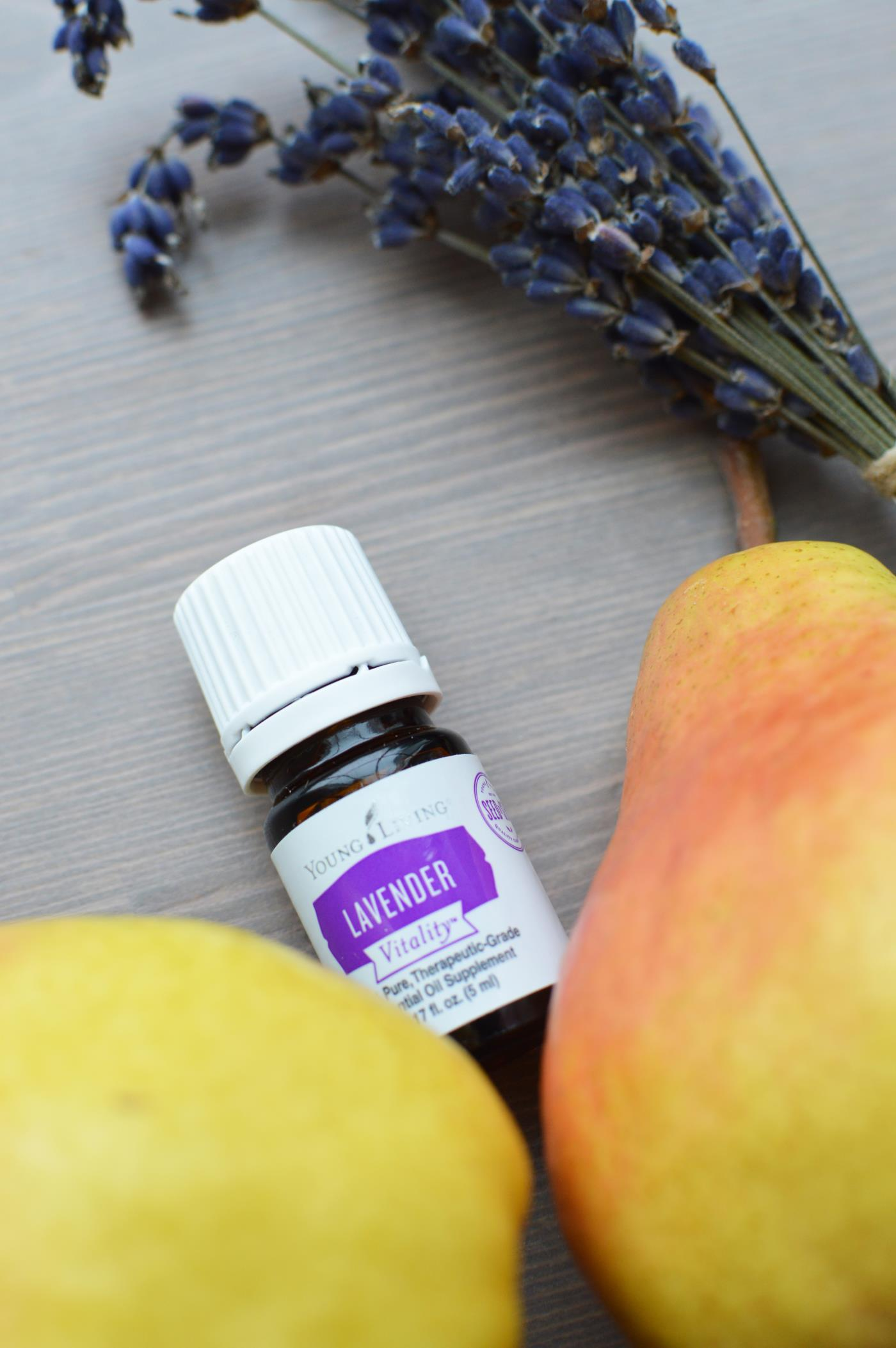 _Young Living lavender pear tart (1)
