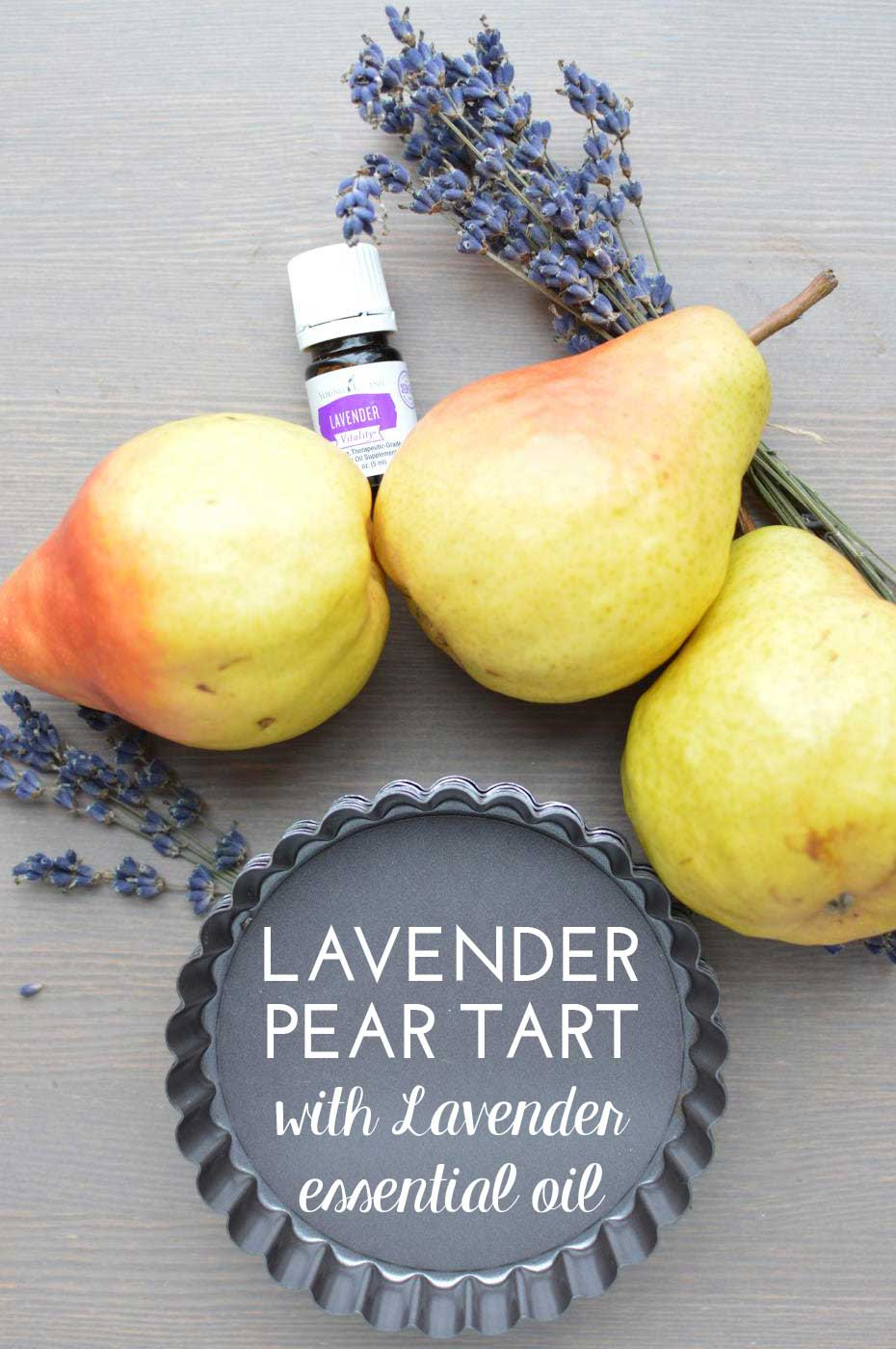 Young-Living-lavender-pear-tart-recipe-essential-oil