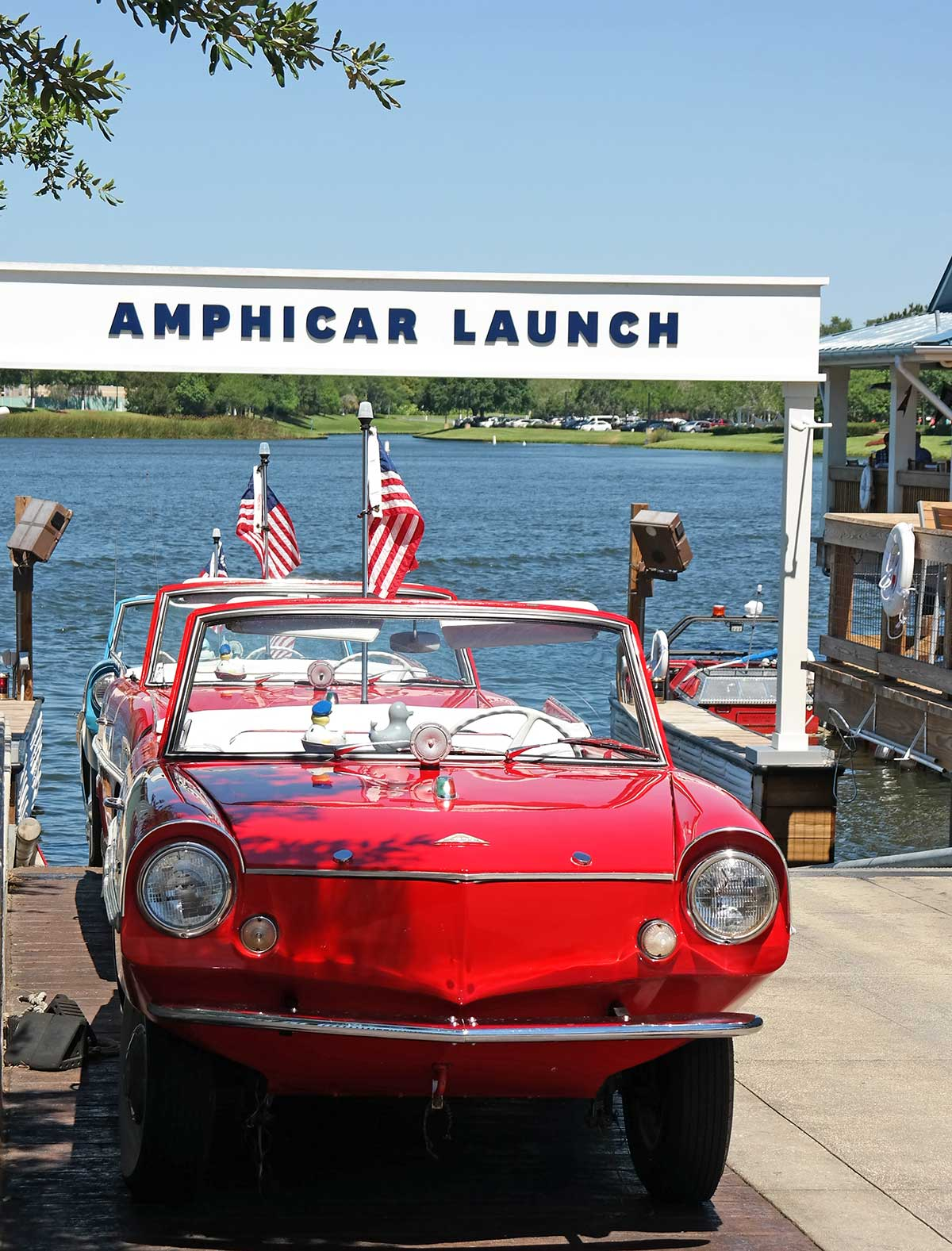 amphicar at Disney Springs, Orlando