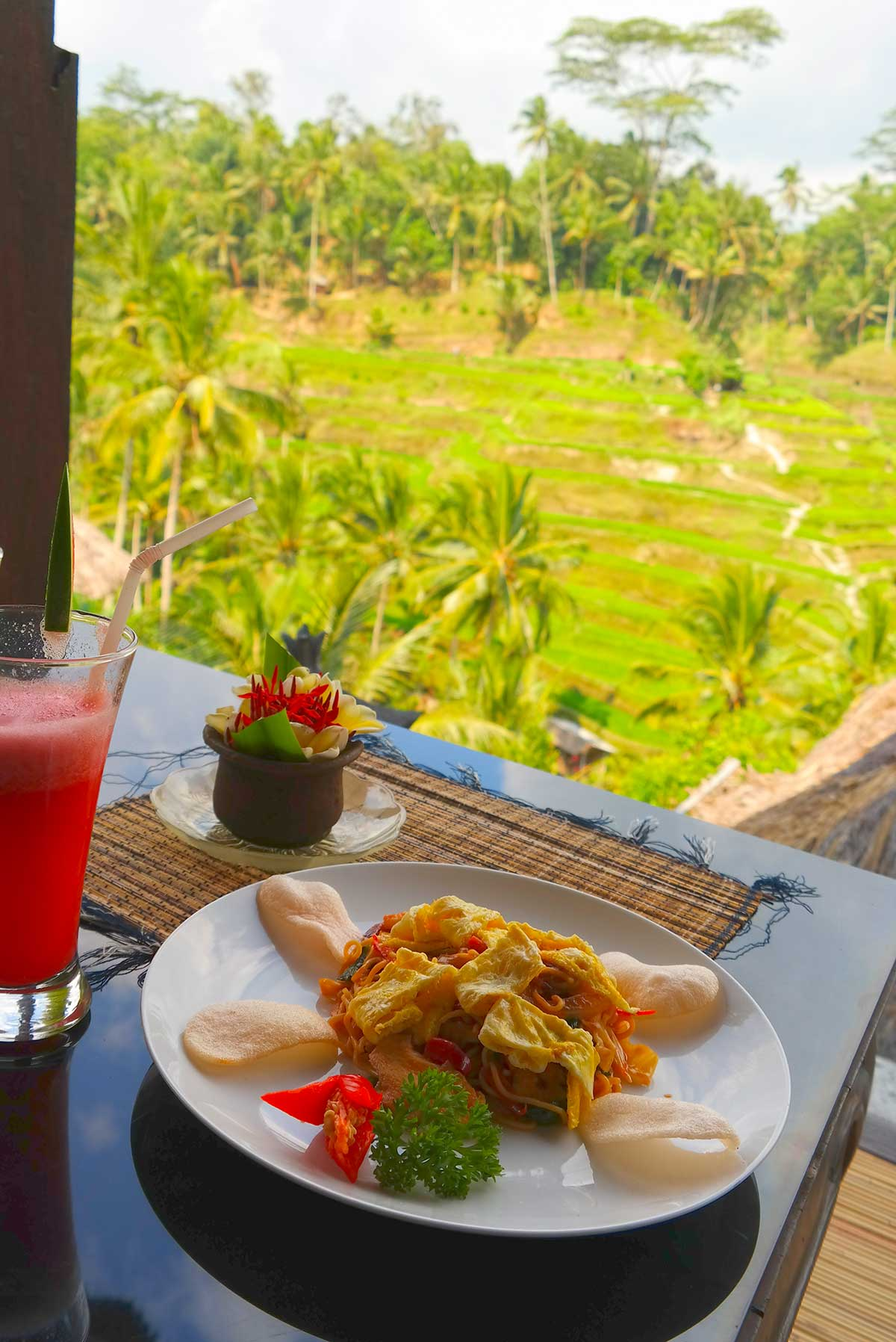 Lunch in Ubud