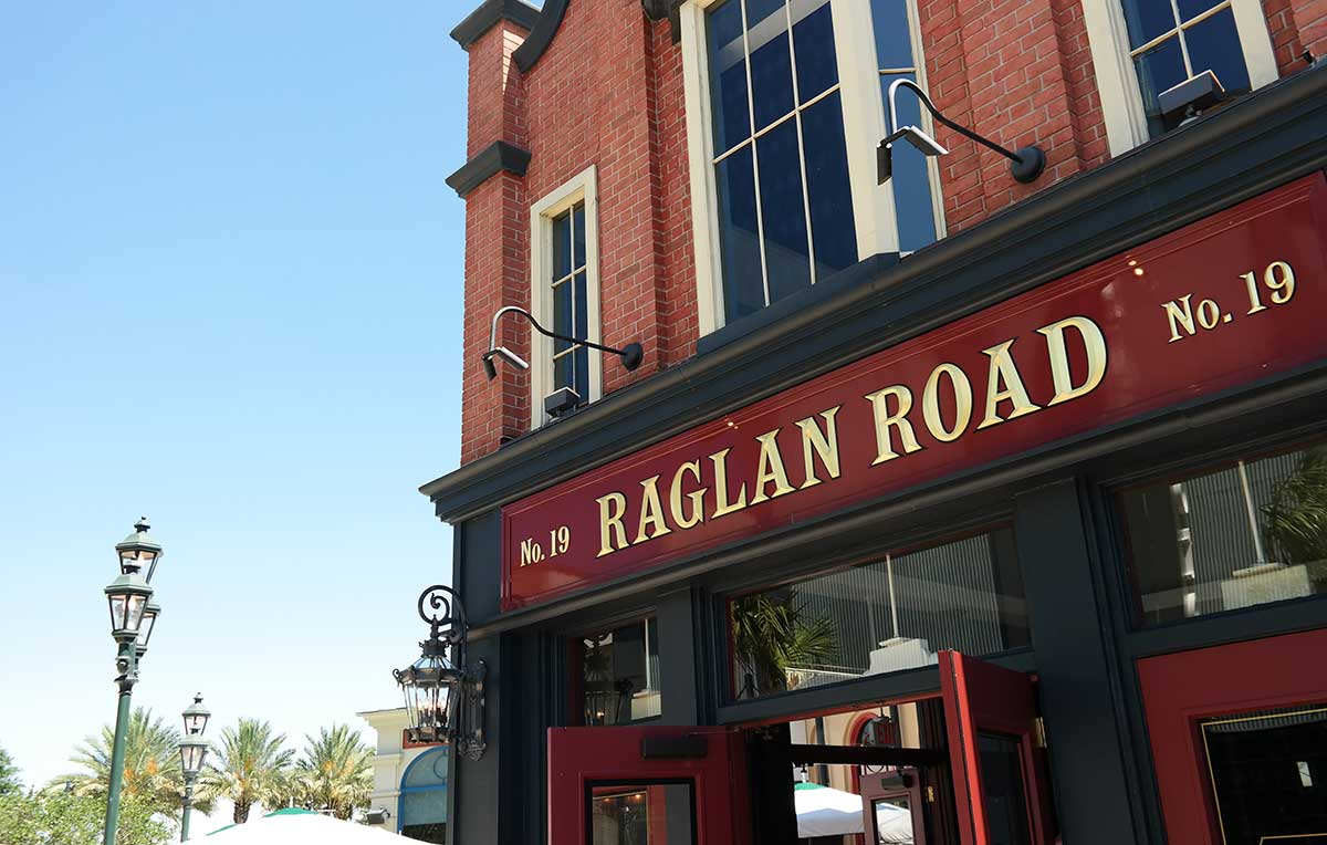 Raglan Road Disney Springs
